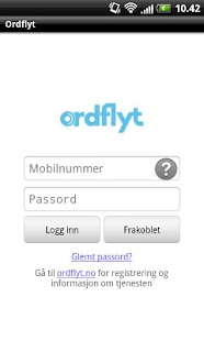 Ordflyt - screenshot thumbnail