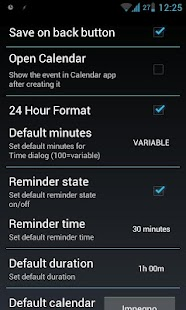 Pocket Event ICS (Quick Add) - screenshot thumbnail
