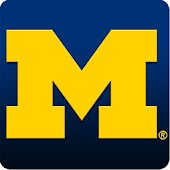 Michigan Wolverines Clock