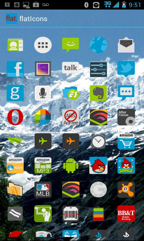 APEX Theme - Flat Icons - screenshot