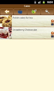 Dessert recipes - screenshot thumbnail