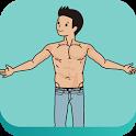 집에서하는헬스,홈웨이트트레이닝 패션근육 다이어트 운동 icon