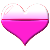 Heart Battery HD Widget 2x2
