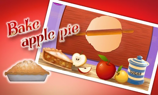 烹饪苹果派 - 库克游戏