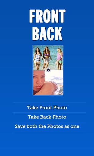 Front Back Selfie Camera