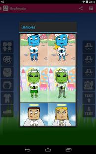 Smartphone Avatar Screenshot