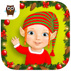 Sweet Baby Girl Christmas Fun icon