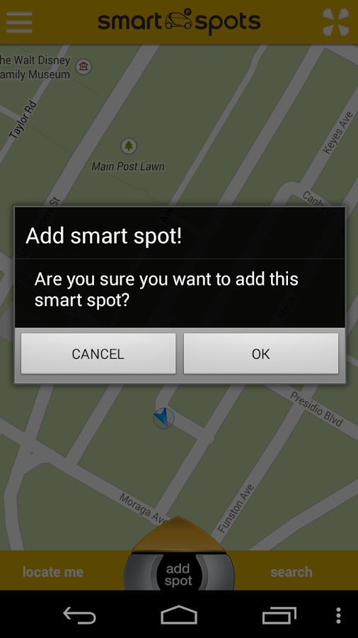 smart spots - screenshot