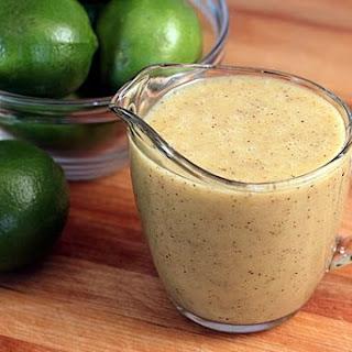 Honey Lime Vinaigrette.