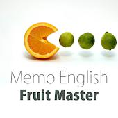 Memo English: Fruit Master