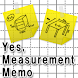 Yes, Measurement Memo