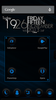 Screenshot of Next Launcher Theme RubberBlue