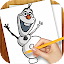 APK Game Learn to Draw Olaf Frozen for iOS