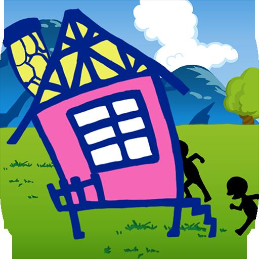 進撃のサザ工一家~完全無料で遊べる暇つぶしゲーム~ 休閒 App LOGO-APP試玩