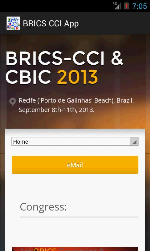 BRICS CCI & CBIC 2013- screenshot