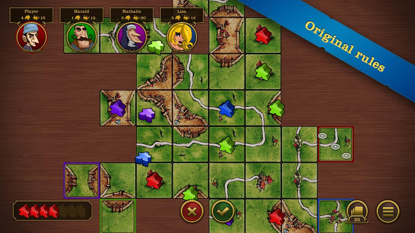 Carcassonne screenshot #3