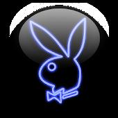 "Playboy - Classic Neon ""Blue"""