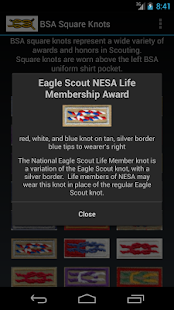 BSA Square Knots - screenshot thumbnail