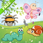 Insects Puzzles for Toddlers icon