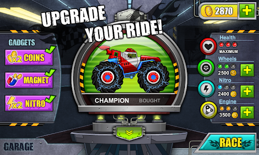 Monster Wheels: Kings of Crash- screenshot thumbnail