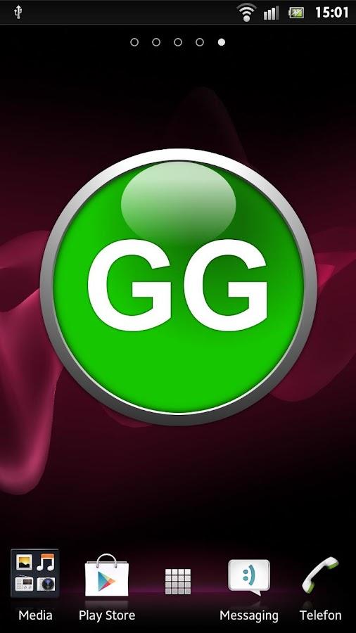 GG Button Widget Full- screenshot