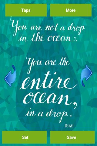 Rumi Quote Wallpapers