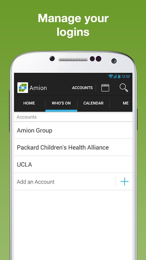 Amion - Physician Calendar- screenshot
