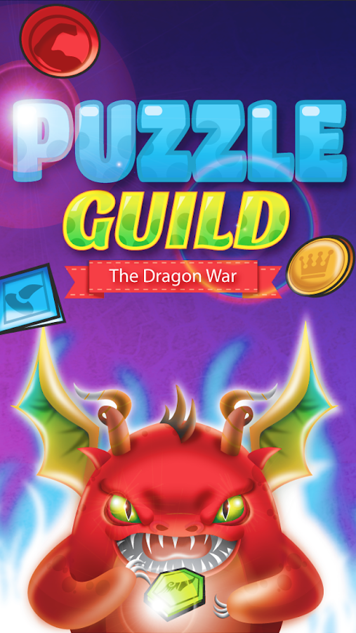Puzzle Guild: The Dragon War- screenshot