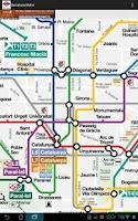 Screenshot of Barcelona's Metro