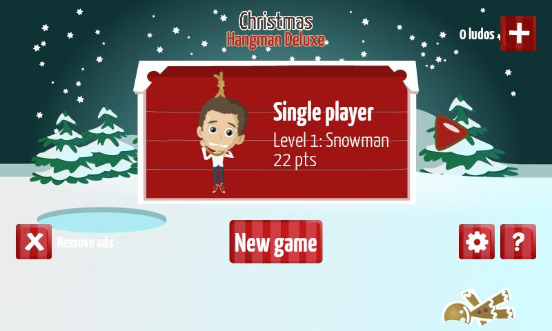 Christmas Hangman Deluxe- screenshot