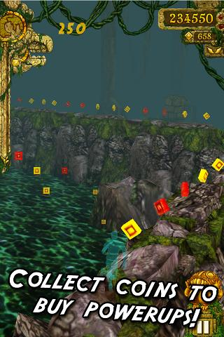 Temple Run  captures d'écran 2