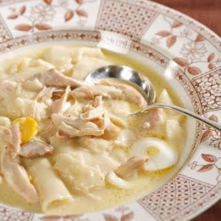 Old-Fashioned Chicken and Dumplings.