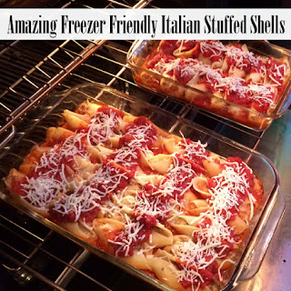 Freezer Friendly Italian Stuffed Shells