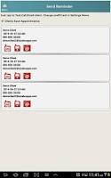 Screenshot of Customer Events Records CRM-L