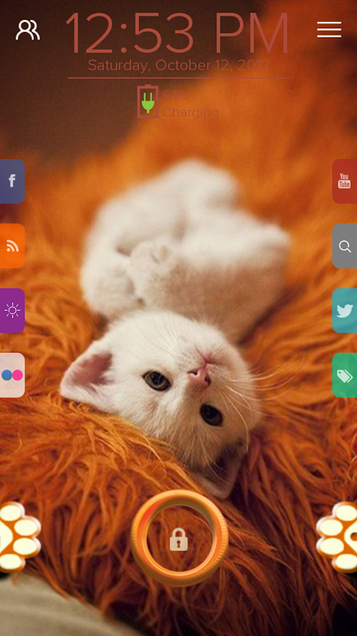 Cute Cat - Start Theme - screenshot