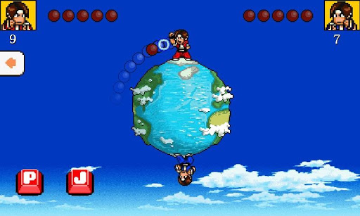 Punch Ball Jump 2 Player Game