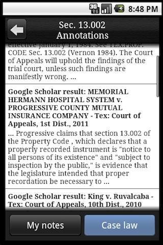 Texas Legal  screenshots 4