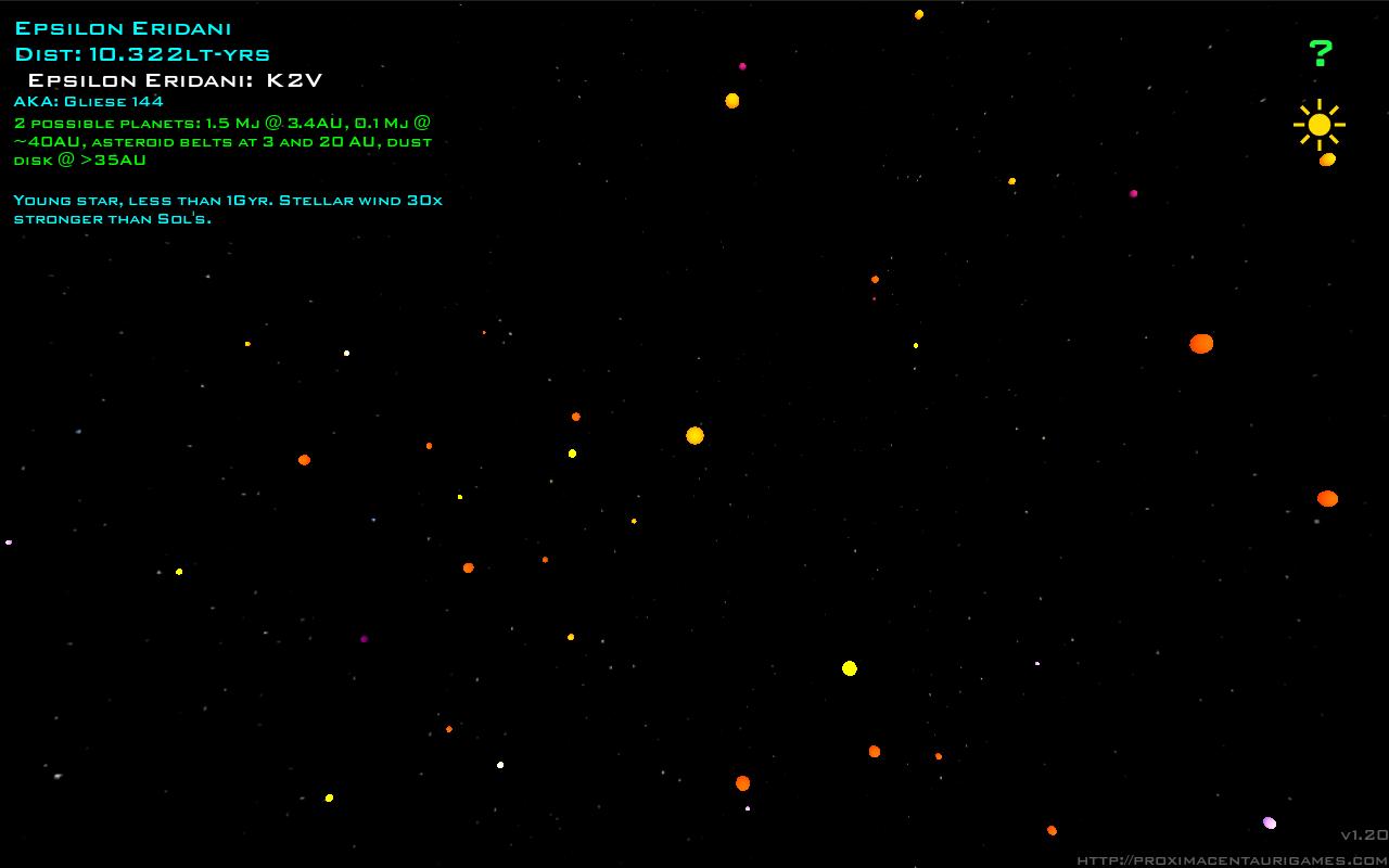 Near Star Map - screenshot