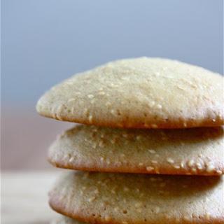 Big Soft Sesame Cookies.
