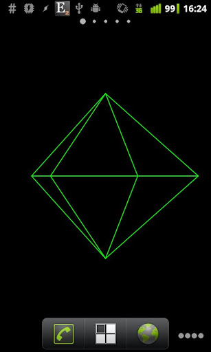 Geometric Shape Live Wallpaper  screenshots 2