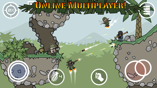 Doodle Army 2 Mini Militia MOD APK Pro Pack Purchased 4.2.5 6
