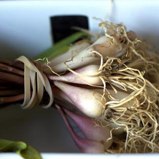 Spring Asparagus Pancetta Hash