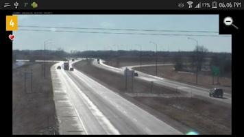 Screenshot of Cameras South Dakota Traffic