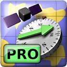 AR GPS Compass Map 3D Pro icon