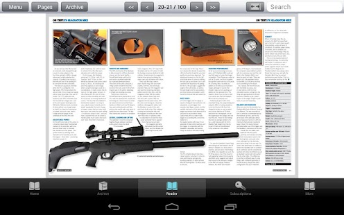 Airgun World Magazine - screenshot thumbnail