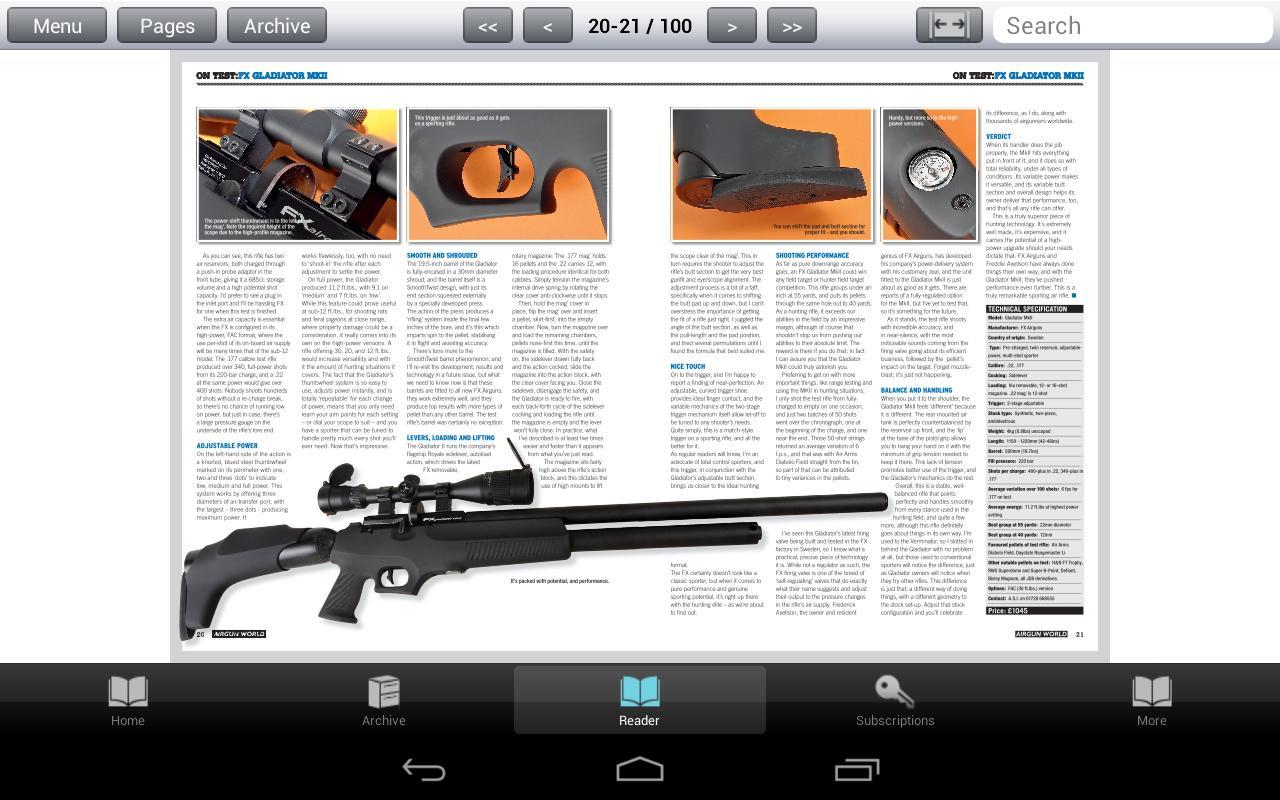 Airgun World Magazine- screenshot
