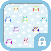Colorful Owl protector theme