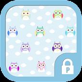 Colorful Owl protector theme