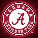Alabama Crimson Tide Clock icon