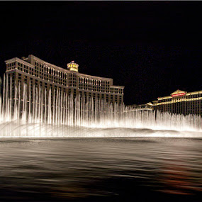 The Dancing Fountain, Belagio Hotel, Las Vegas, NV by Tin Tin Abad - Buildings & Architecture Other Exteriors (  )